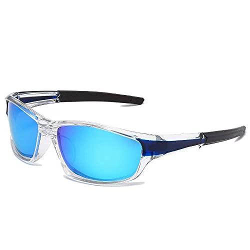 Gafas Polarizantes Anti - Gafas De Sol Ultravioleta Gafas De Movimiento Tamaño medio Azul claro