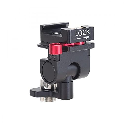 Nitze N54-H1 - Supporto per monitor da campo per fotocamera, con morsetto NATO a 3/8'-16 W