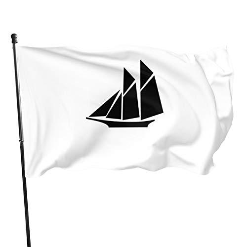 Generic Brands - Bandera china china de béisbol, banderas, color negro