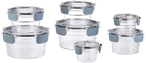 Recipientes de cristal para conservar alimentos