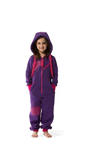 Jumpster Jumpsuit Kids Jungen Mädchen Unisex Kinder Overall Onesie Wild Berries Pink M (128-134)