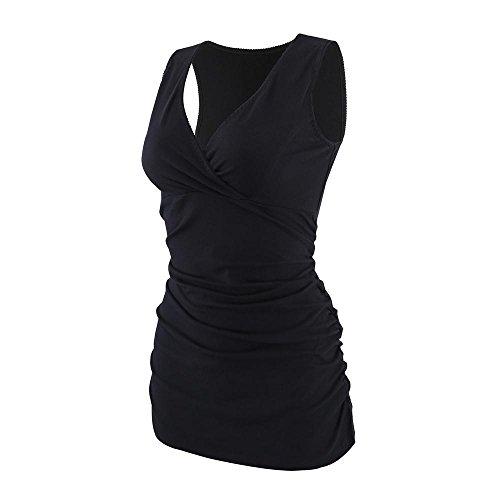 ZUMIY Still-Shirt/Umstandstop, Schwangeres Stillen Nursing Schwangerschaft Top Umstandsmode Unterwäsche