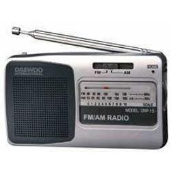 Daewoo Electronics - Radio Portátil - Daewoo Drp 15, Plateada