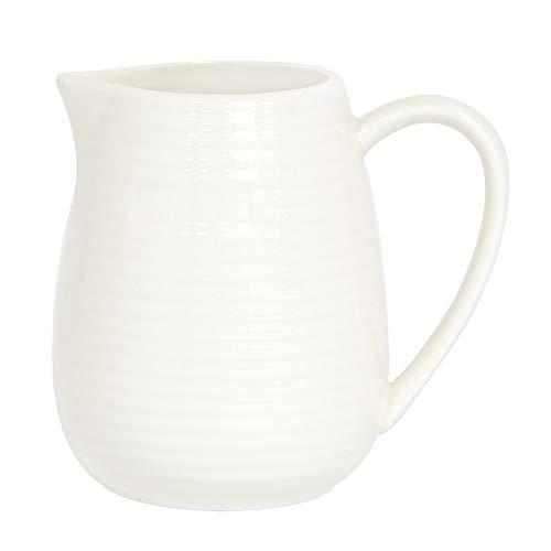 ProCook Kanne - Milchkännchen - Porzellan - 500ml - weiß