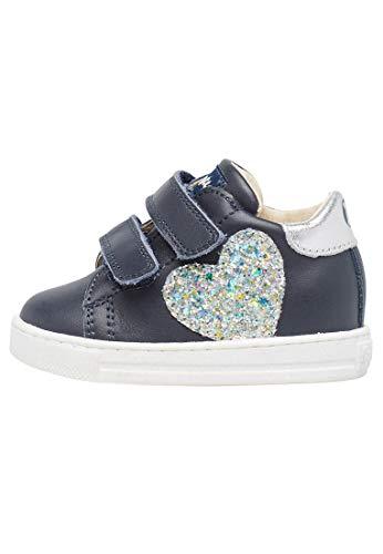 Falcotto Zenia VL Kinder-Sneaker ZENIA VL-1C19 Blau, Blau 23