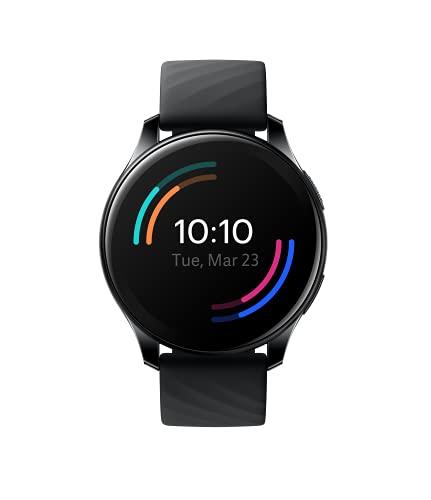 OnePlus Watch - Reloj Inteligente Bluetooth 5.0 con batería de 14 días de duración y 5ATM + Resistencia al Agua IP68 - Midnight Black