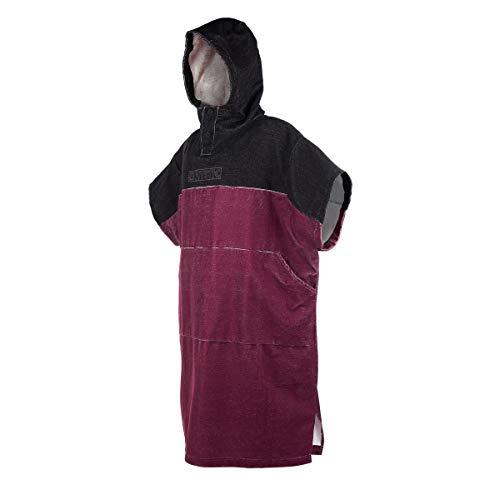 Mystic Wetsuit Poncho - Dark Red ONE SIZ