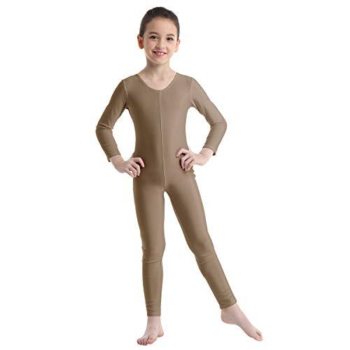 Oyolan Kids Girls Long Sleeve Gymnastic Leotard Unitard Girl Full Length...