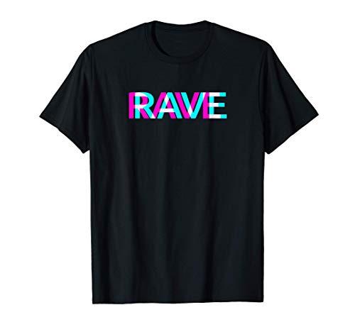 Rave Trippy Raver EDM Festival Ropa Acid Techno Camiseta