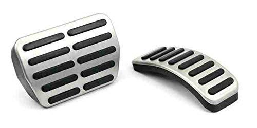 Antideslizante y resistente al desgaste. Cubierta de pedal de coche de acero inoxidable For Audi A3 For VW Polo 6N 9N 6R JETTA MK4 For Skoda Fabia For SEAT IBIZA 6K / 6L / 6J / SEAT Leon Accesorios de
