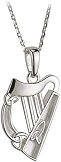 Best silver harp necklace Reviews