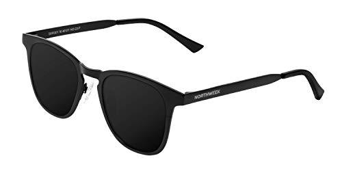 Northweek Unisex-Erwachsene Regis Sonnenbrille, Mehrfarbig (All Black Polarized), 10.0