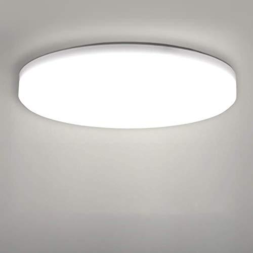 LED Lámpara de Techo,22W Moderna Plafón Led de Techo Redon