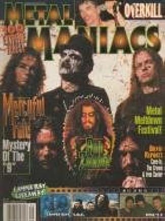 Metal Maniacs September 1999 Mercyful Fate, Rob Zombie, Overkill, S.O.D.