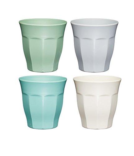 Colourworks Unzerbrechliche' Trinkbehälter, 280 ml, Mehrfarbig, 8,5 x 8,5 x 9 cm