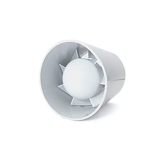 Dospel Extractor Ventilador Tubular en Linea Euro 1 diametro100