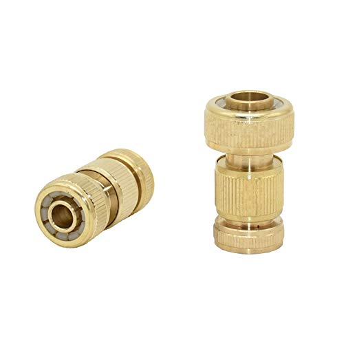 Conectores De Manguera Mujer de latón 3/4 a 3/4 1/2 Conector rápido de la manguera de cobre 16 mm 20 mm Manguera de jardín Manguera Agitadora de agua 6set (Color : 3I4 hose, Diameter : 1/2'')
