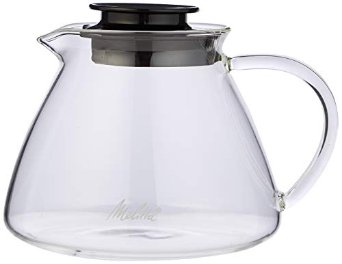 Melitta Kanne aus Borosilikatglas, Robust und Hitzebeständig, 0,7 Liter, 217625