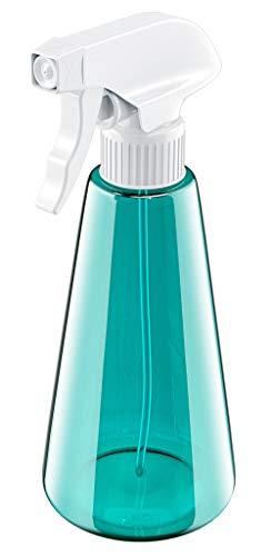 Bcway Plastic Spray Bottle, 16oz Trigger Sprayer for Cleaning Solutions, 3 Modes Refillable Empty Mist Spray Bottles for Hair Coloring, Home Cleaning, Air Freshening & Gardening