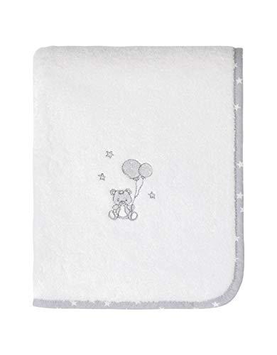 Sensei La Maison du Coton Serviette de Toilette 50x90cm Baby Soft Ours Coton Peigné