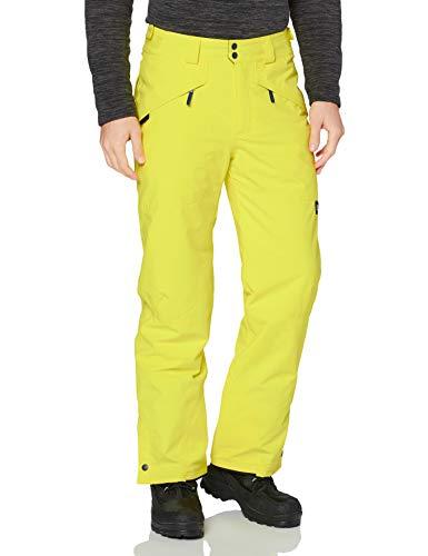 O'NEILL Hammer Pantalones para Nieve, Hombre, Amarillo Veneno, M