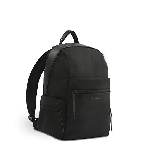 Sherpani Indie, mochila antirrobo, mochila de viaje, mochila pequeña para mujer, se adapta a portátiles de 13 pulgadas, protección RFID - negro - M
