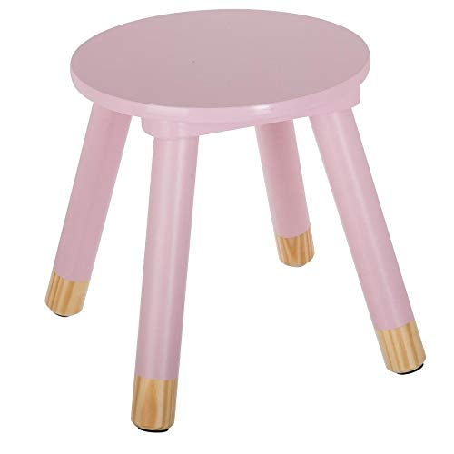 color rosa Atmosphera dise/ño de arco 60 cm Silla de madera para habitaci/ón infantil