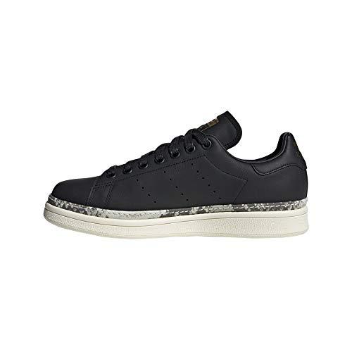 adidas Damen Stan Smith New Bold W Fitnessschuhe, Schwarz (Negro 000), 40 EU