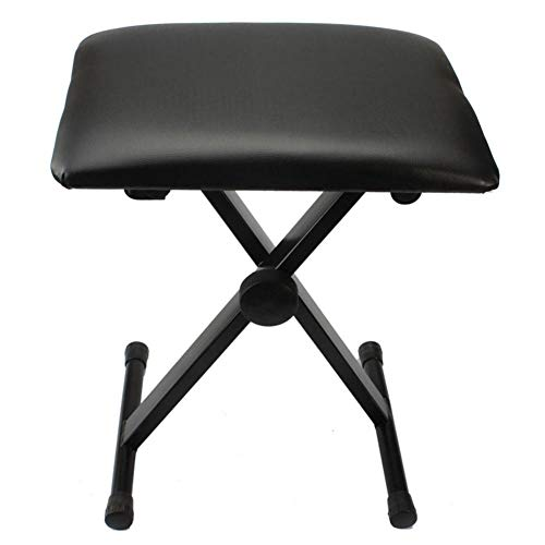 Why Should You Buy Coaste Adjustable Folding Piano Bench Stool Seat Height Adjustable Folding Padded...