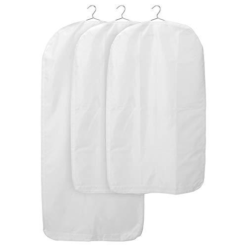 IKEA ASIA SKUBB Kleiderhüllen 3er Set weiß