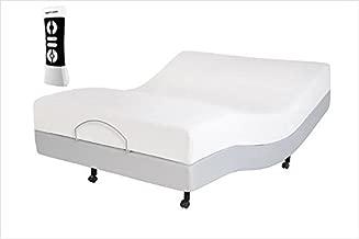 iDealBed Leggett & Platt Dream Sleep Mattress with Lescape Adjustable Bed Set, Wireless, Massage, Zero Gravity, Queen