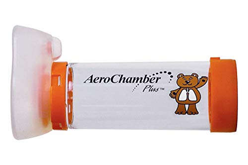 AeroChamber Plus mit Infant (Orange) mit Maske
