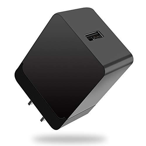 2021年進化版 acアダプター 5v/3a 9v/2a 12v/1.5a 18W quick charge 3.0 アダプター iPhone/iPad/Androidなどに対応 USBコンセント PSE認証済み/QC3.0急速/自動電流検測 usb急速PD充電器