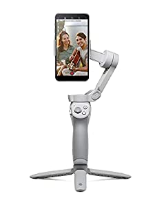 DJI OM 4 - Handheld 3-Axis Smartphone Gimbal Stabilizer with Grip Tripod Vlog Youtube Live Video for iPhone Android
