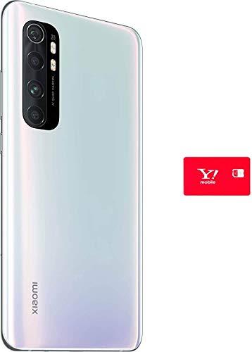 【セット割】Xiaomi Mi Note10 Lite 6+64GB グレイシャーホワイト 【日本正規代理店品】 + ワイモバイルSIMカード