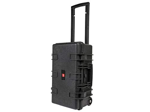 Monoprice Weatherproof Hard Case - 22 x 14 x 10 in With Customizable Foam, Shockproof, Ultraviolet And Impact Resistant Material