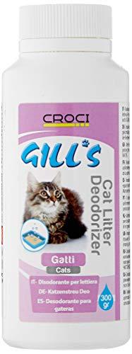 CROCI Gill's Déodoriser Litière pour chat 300 g