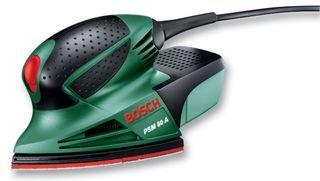 Bosch Home and Garden 603354000 Levigatrice Palmare, 80 W, 230 V, Blu/Rossono, 1 Pezzo