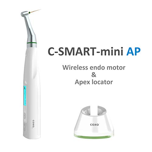 COXO C-Smart Mini AP Dental Wireless Motor, Dental endo Motor and Apex Locator, Two in one, Reciprocation System .Contactless Charging
