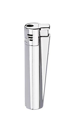 Clipper Metal Electronic Jet - 1 Feuerzeug Silber matt / glänzend