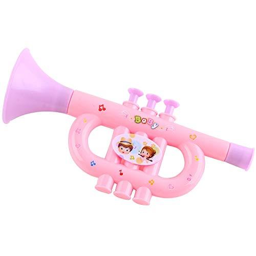 Juguetes musicales para niños, 3 piezas lindos dibujos animados de plástico pequeño, juguetes educativos PingGongHuaKeJiYouXianGongSi