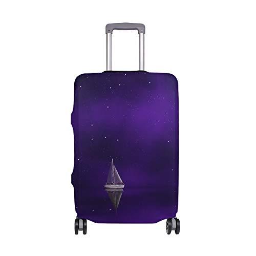 AJINGA - Funda Protectora para Maleta de Viaje, Color Morado