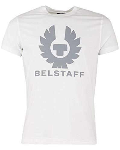 Belstaff Herren Heritage Jersey Cranstone T-Shirt M White