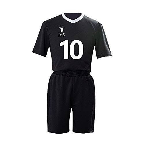 Haikyuu !! Inarizaki High School T-Shirt Anzüge Haikyuu Cosplay Nr. 7 Miya Atsumu Miyano Mamoru Volleyball Trikot Uniform Top Shorts Zweiteiler Set für Jungen Mädchen