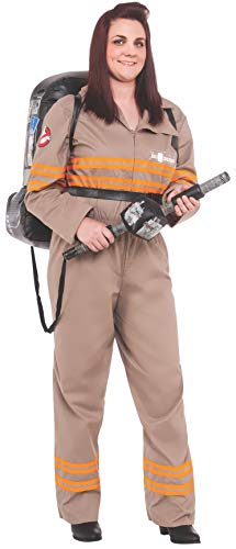 Rubie's Costume Co Women's Ghostbusters Movie Deluxe Plus Costume, Multi, One Size