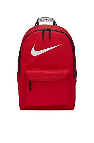 Nike Sportswear Heritage Jungen Rucksack, Rot/Schwarz/Weiß, 43 x 30,5 x 15 cm DC7344 657, - Red/Nero/Bianco - Größe: Einheitsgröße
