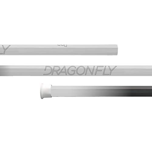 Epoch Dragonfly Select Lacrosse Shaft for Attack/Midfield, 30', Mid-Flex iQ5, C30, White
