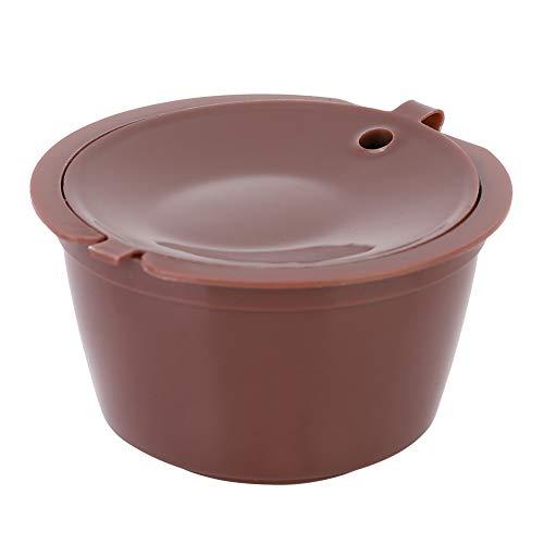Cápsula de café, café recargable reutilizable, práctica sin cepillo de bisfenol, la cuchara de acero inoxidable