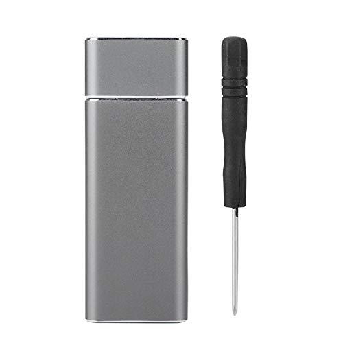 Socobeta Tragbares praktisches SSD-Gehäuse Externes U-Festplattentyp SSD-Gehäuse Externes SSD-Gehäuse USB3.0 SSD-Gehäuse für Computer für Desktop