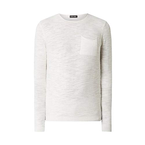 Antony Morato Suburbia 50's - Camiseta blanca con bolsillo Bianco XL